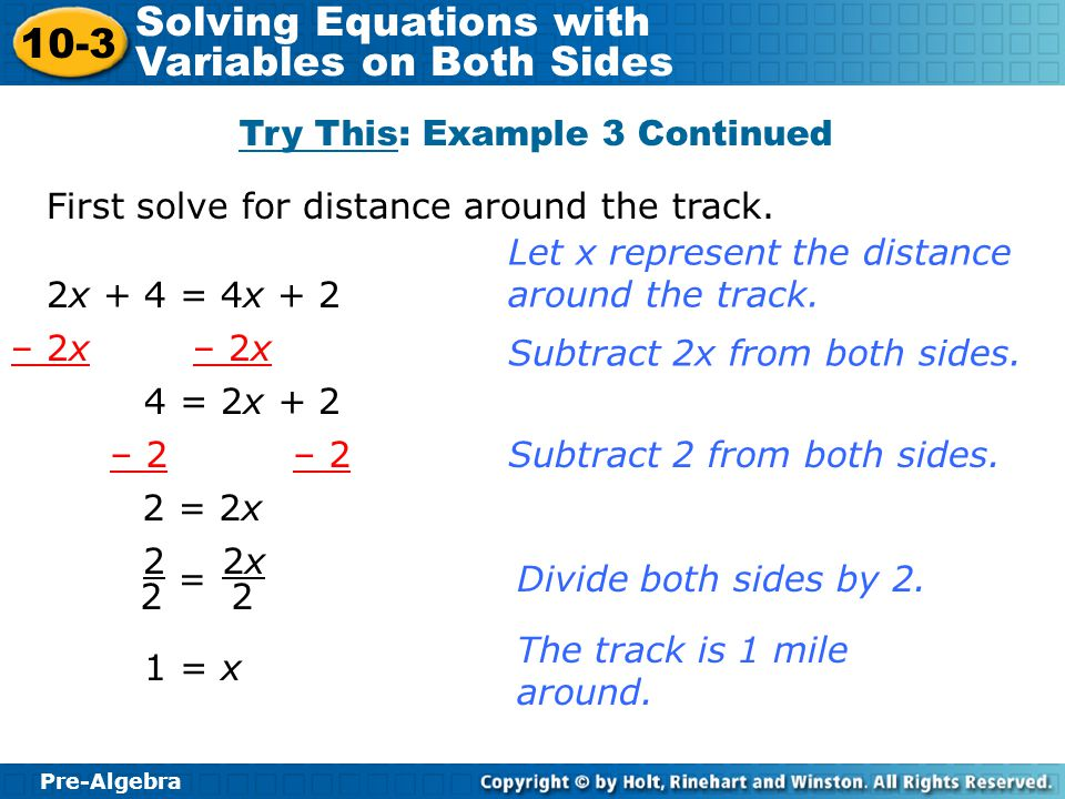 Try This: Example 3 Continued