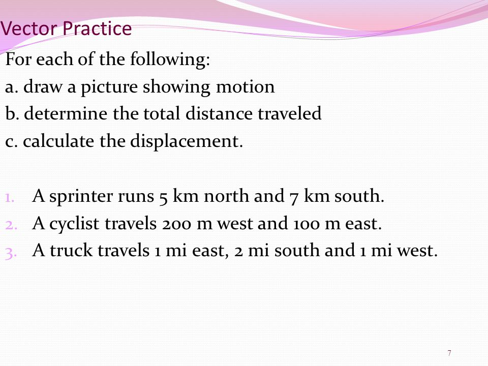 Chapter 2 Physical Science ppt download – Distance Displacement Worksheet