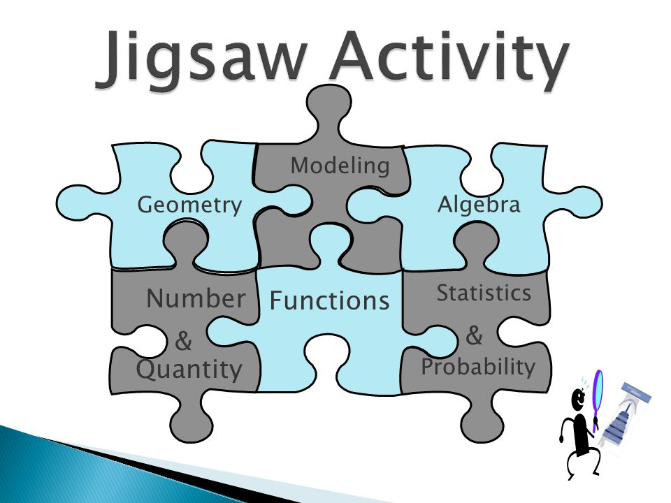 Jigsaw Activity Number Functions & & Quantity Modeling Geometry