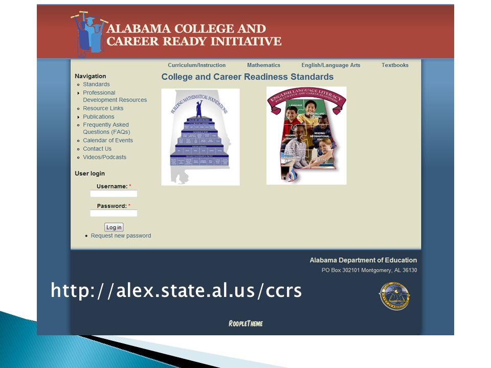 http://alex.state.al.us/ccrs