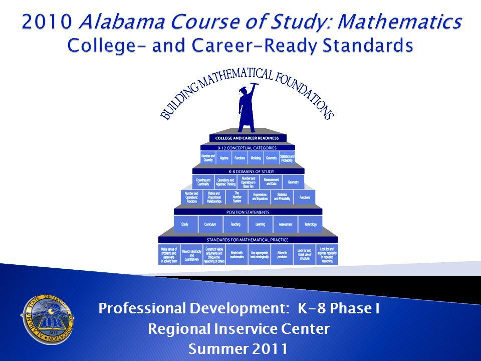 Professional Development: K-8 Phase I Regional Inservice Center