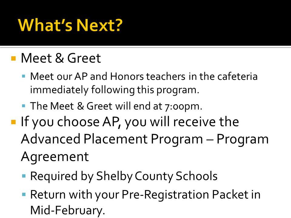 What's Next Meet & Greet