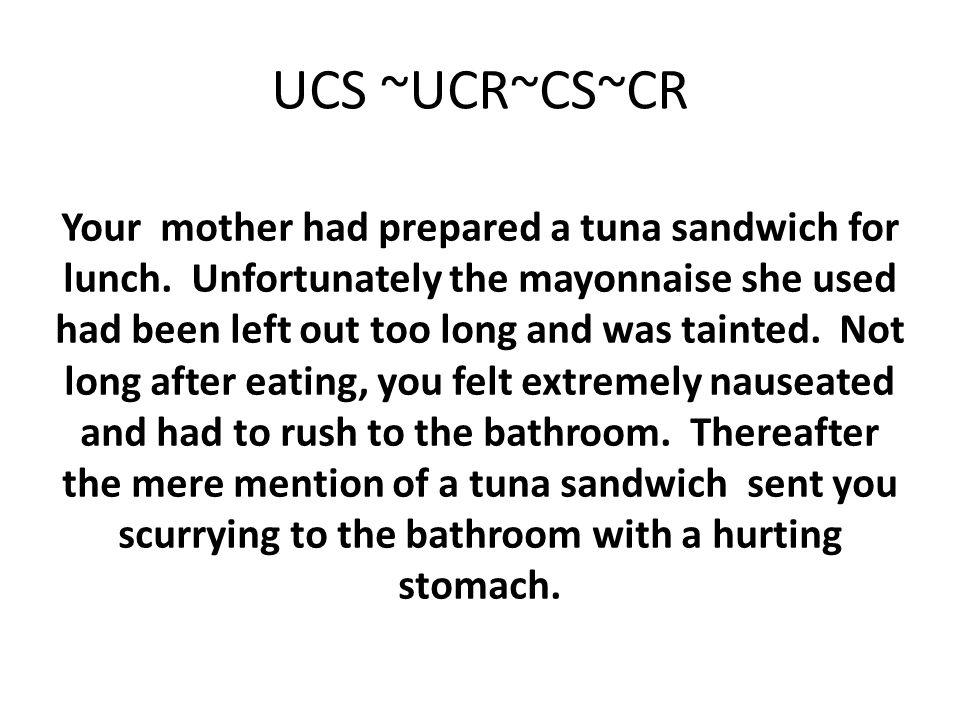 UCS ~UCR~CS~CR