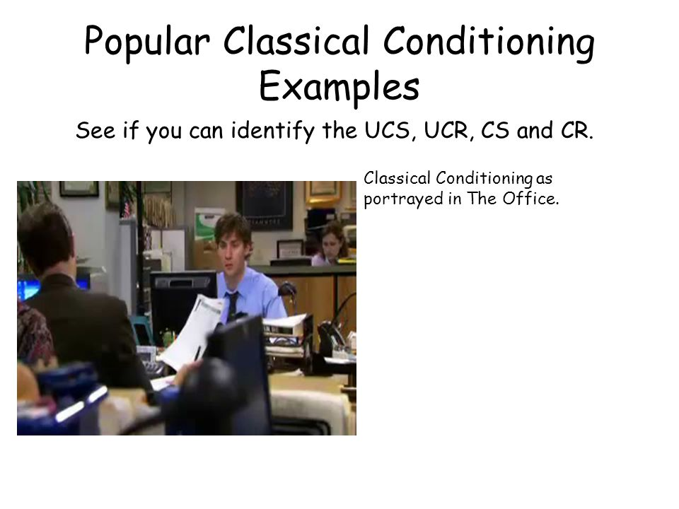 Popular Classical Conditioning Examples