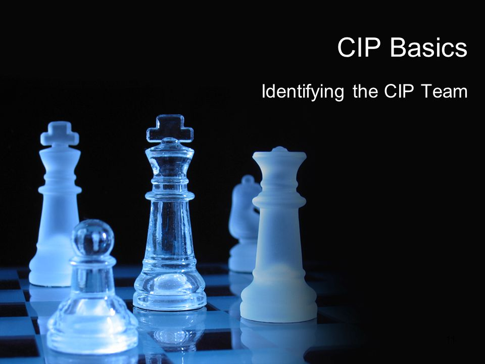 Identifying the CIP Team