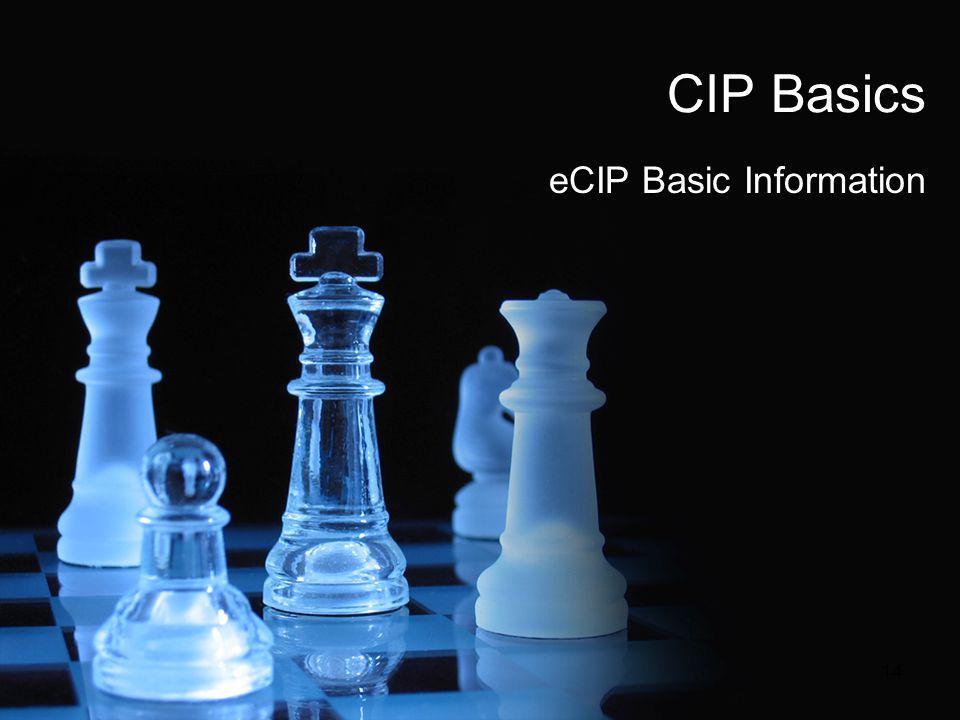 eCIP Basic Information