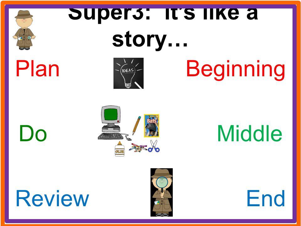 Super3: it's like a story…