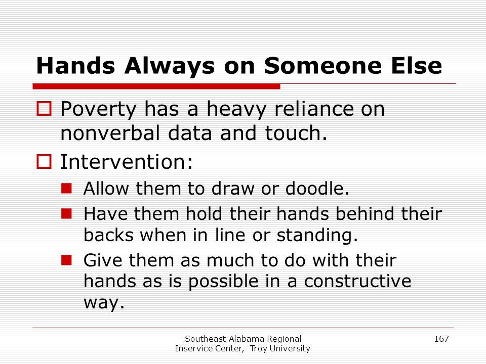 Hands Always on Someone Else