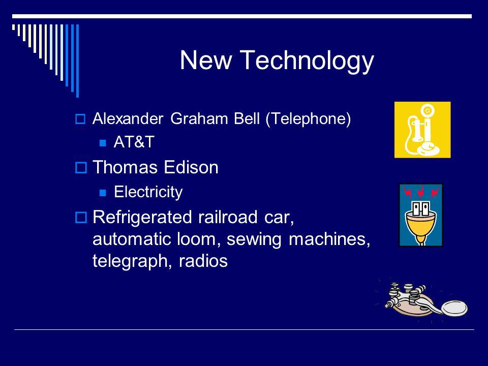 New Technology Thomas Edison