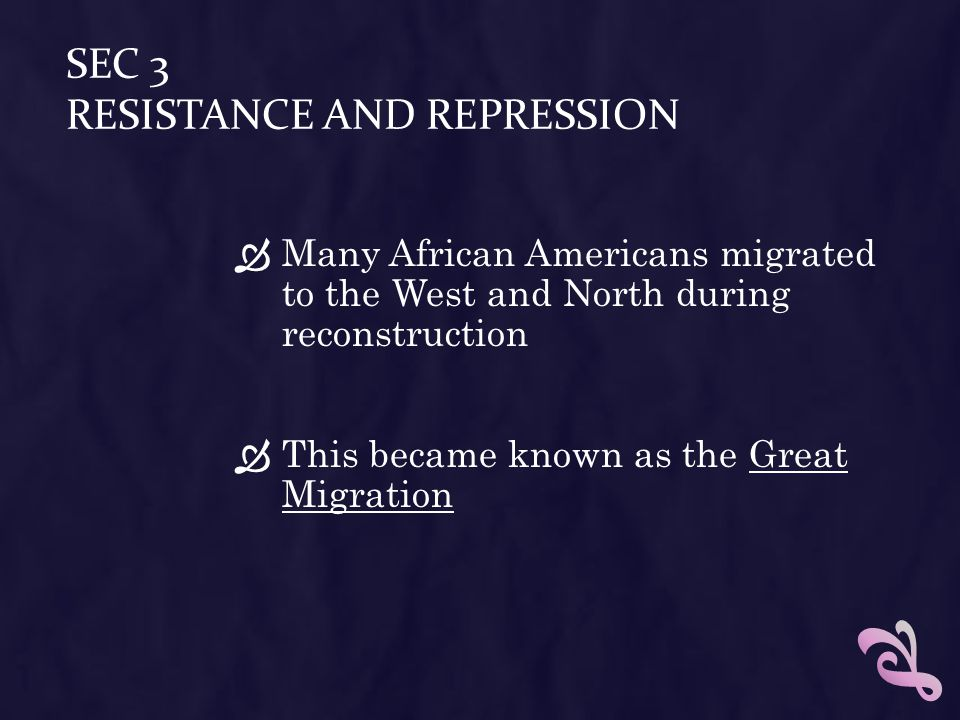Sec 3 Resistance and Repression