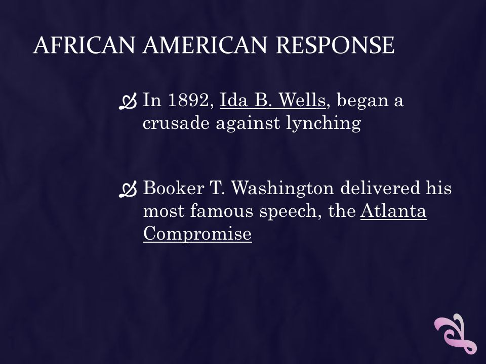 African American Response