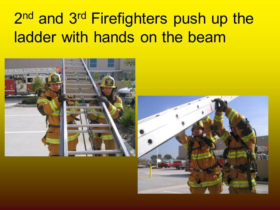 2nd and 3rd Firefighters push up the