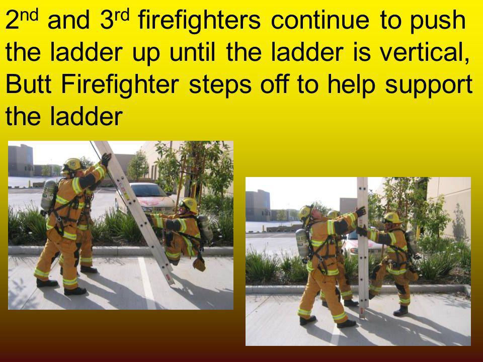 2nd and 3rd firefighters continue to push