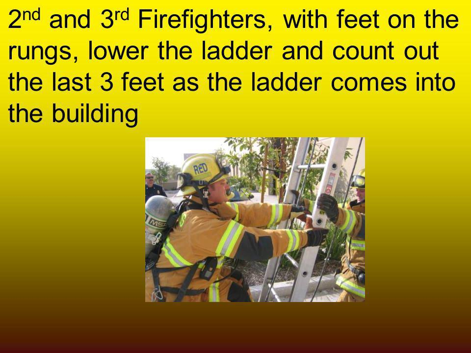 2nd and 3rd Firefighters, with feet on the