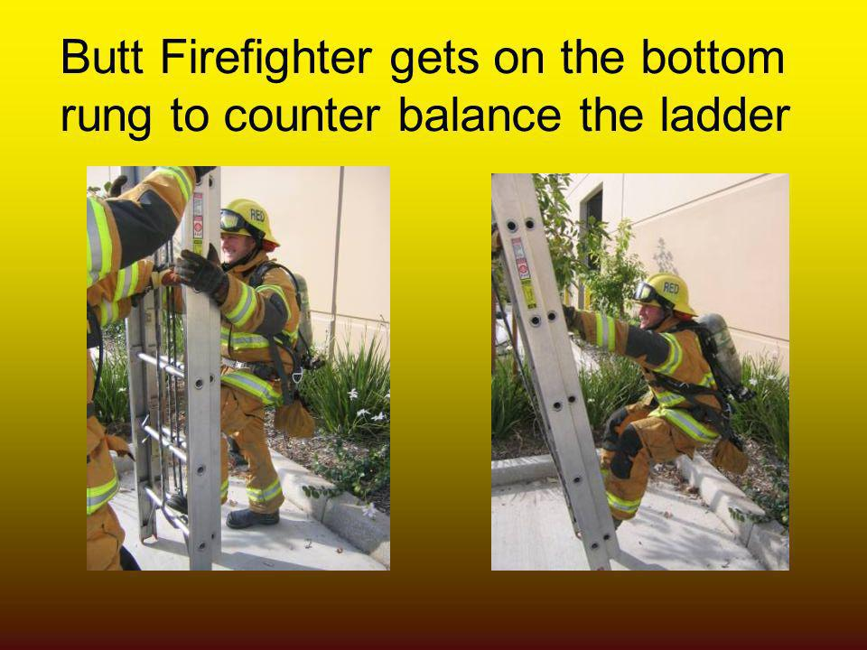 Butt Firefighter gets on the bottom