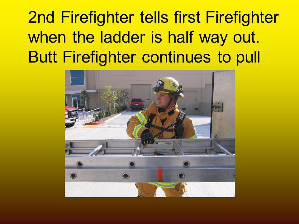 2nd Firefighter tells first Firefighter