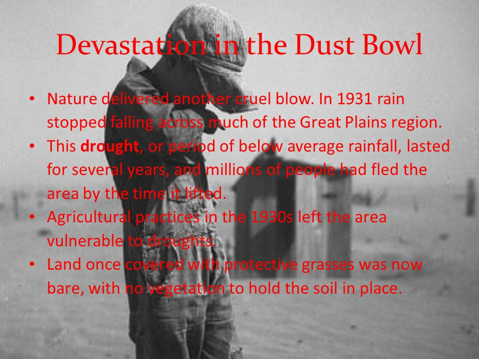 Devastation in the Dust Bowl