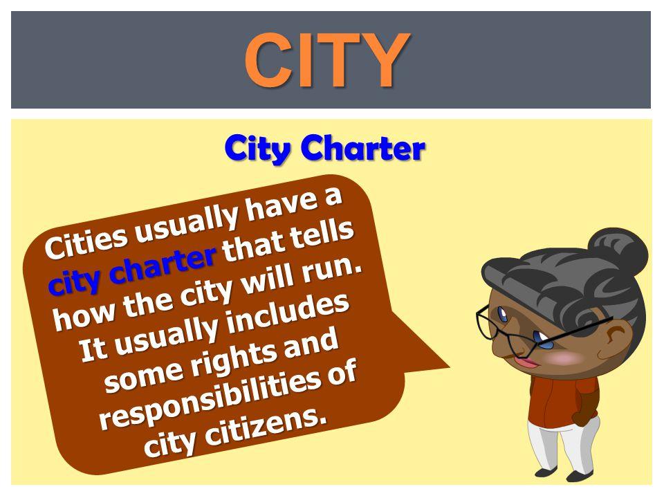 CITY City Charter.