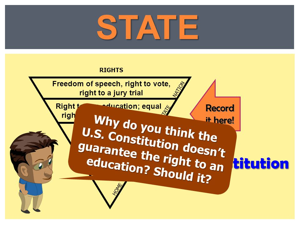 STATE State Constitution