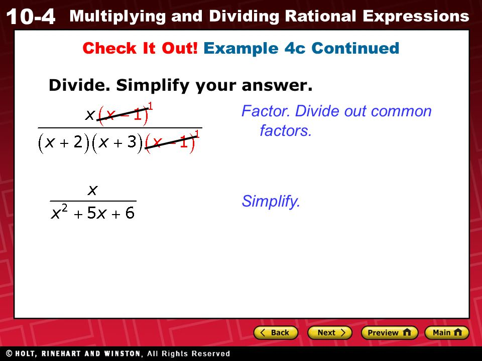 Check It Out! Example 4c Continued