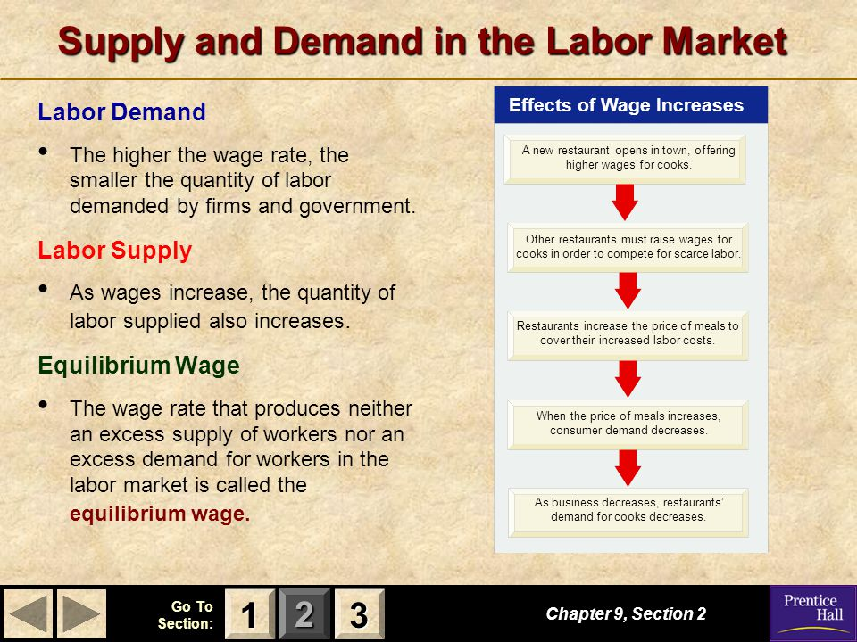 Supply and Demand in the Labor Market