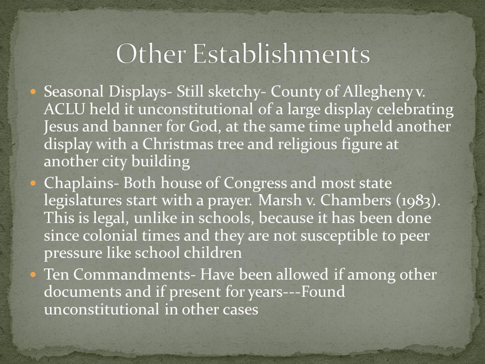 Other Establishments