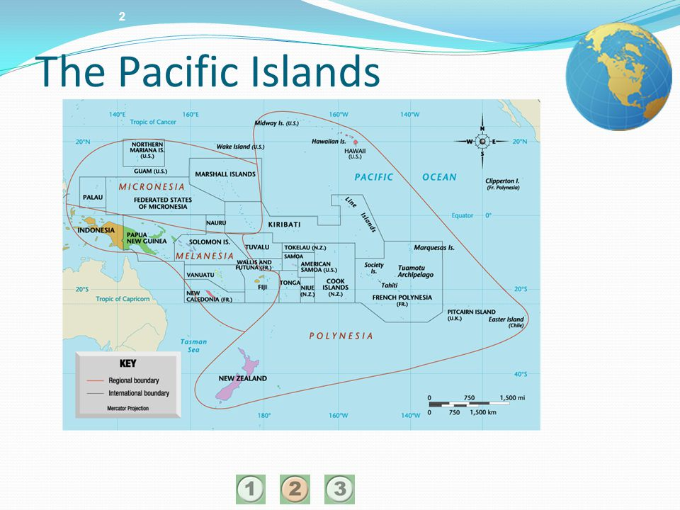 2 The Pacific Islands