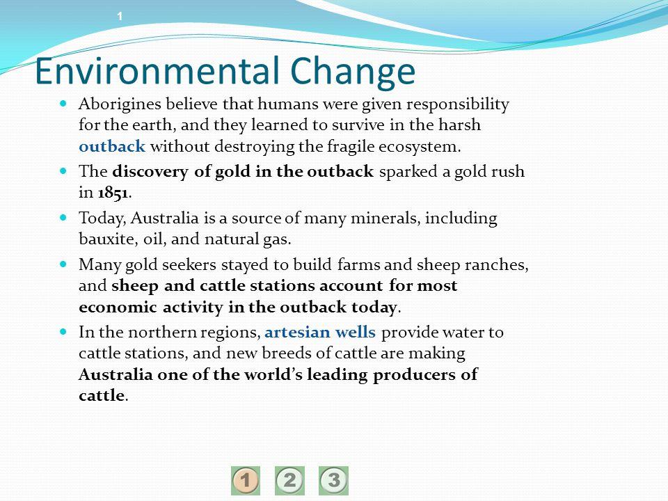 1 Environmental Change.