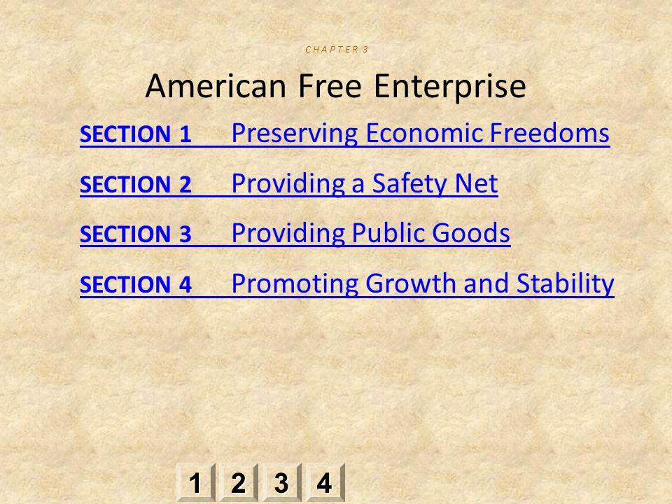 C H A P T E R 3 American Free Enterprise