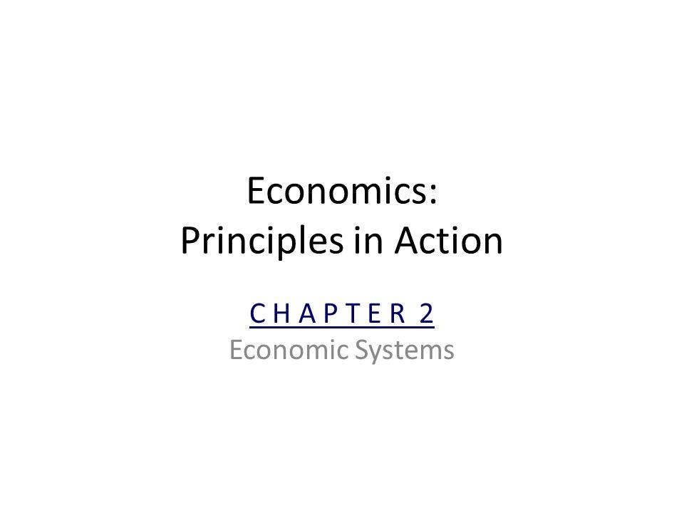 Economics: Principles in Action