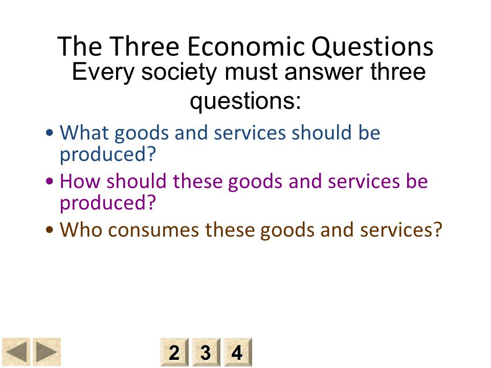 Economic: Economics and Correct Answer