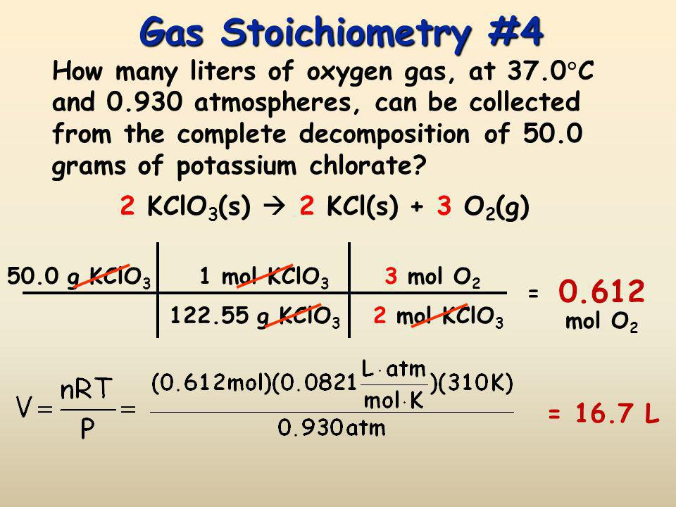 Gas Stoichiometry #4