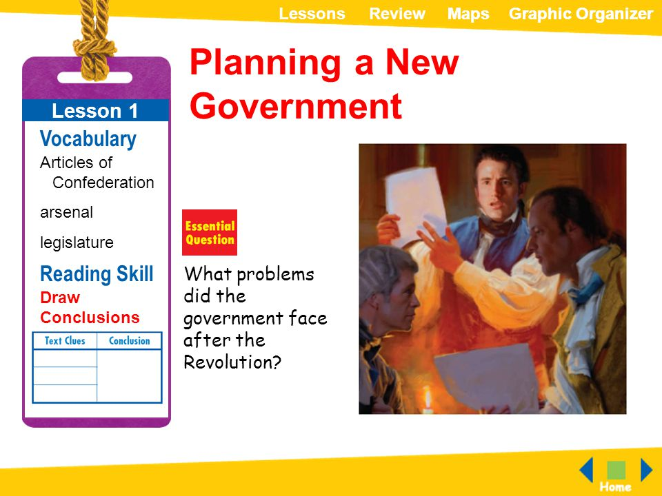 Planning a New Government