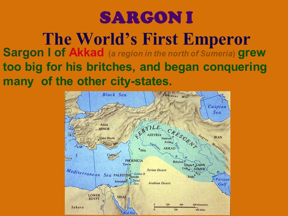 SARGON I The World's First Emperor