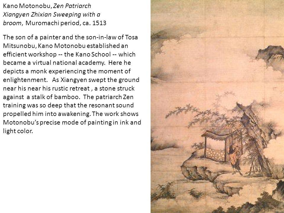 Kano Motonobu, Zen Patriarch