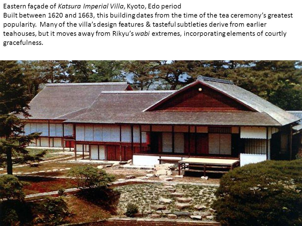 Eastern façade of Katsura Imperial Villa, Kyoto, Edo period
