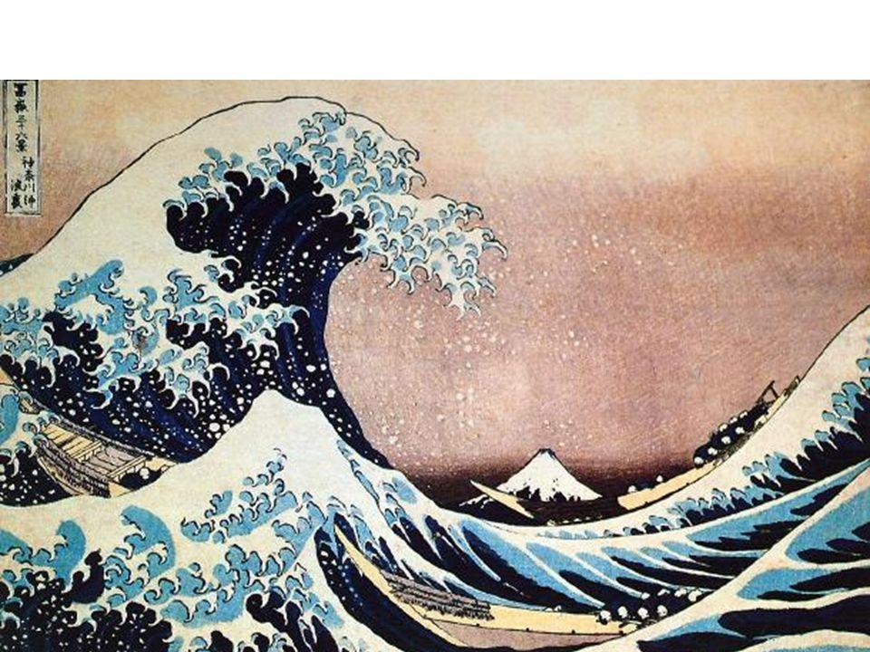Katsushika Hokusai, The Great Wave off Kanagawa, from Thirty-Six
