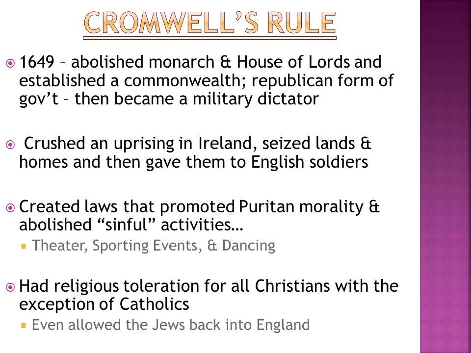 Cromwell's rule