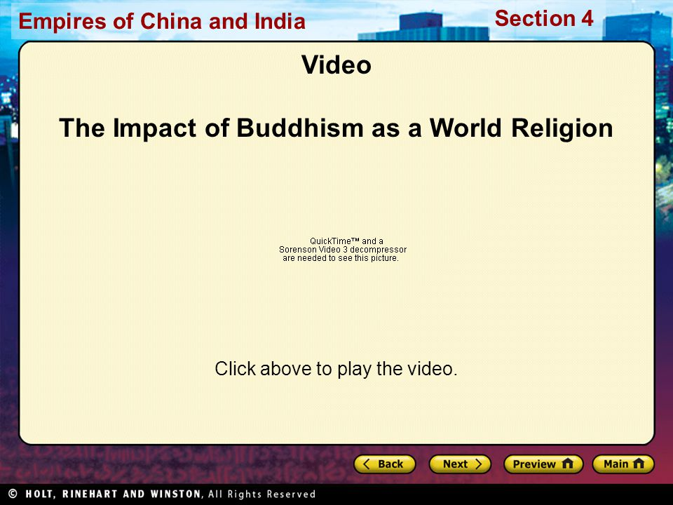 Video The Impact of Buddhism as a World Religion