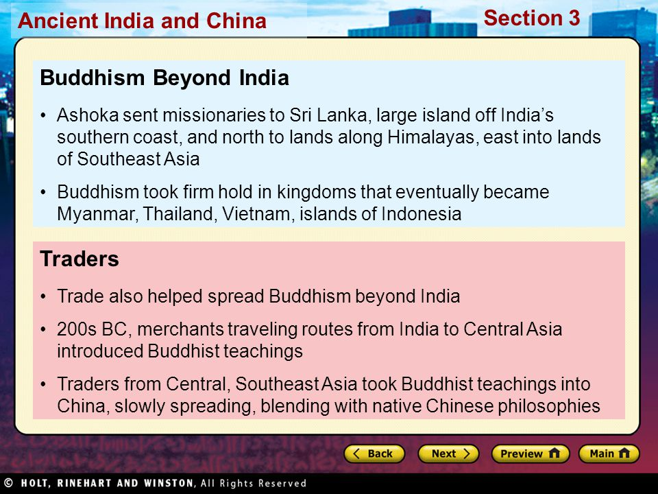 Buddhism Beyond India Traders
