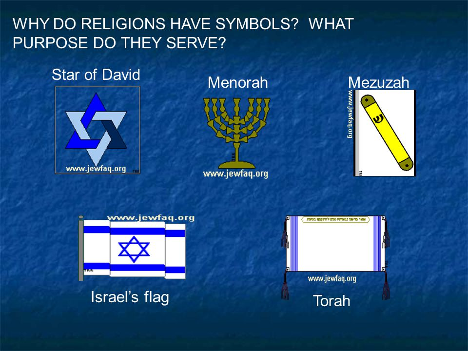 WHY DO RELIGIONS HAVE SYMBOLS WHAT PURPOSE DO THEY SERVE