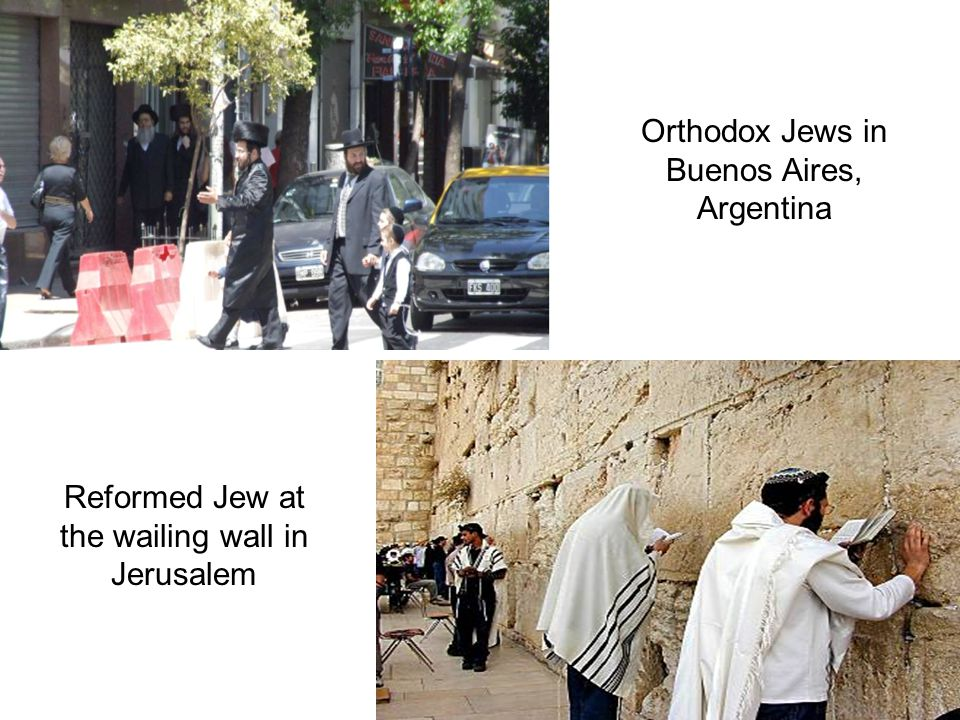 Orthodox Jews in Buenos Aires, Argentina