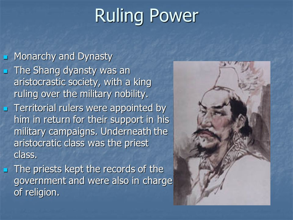 Ruling Power Monarchy and Dynasty