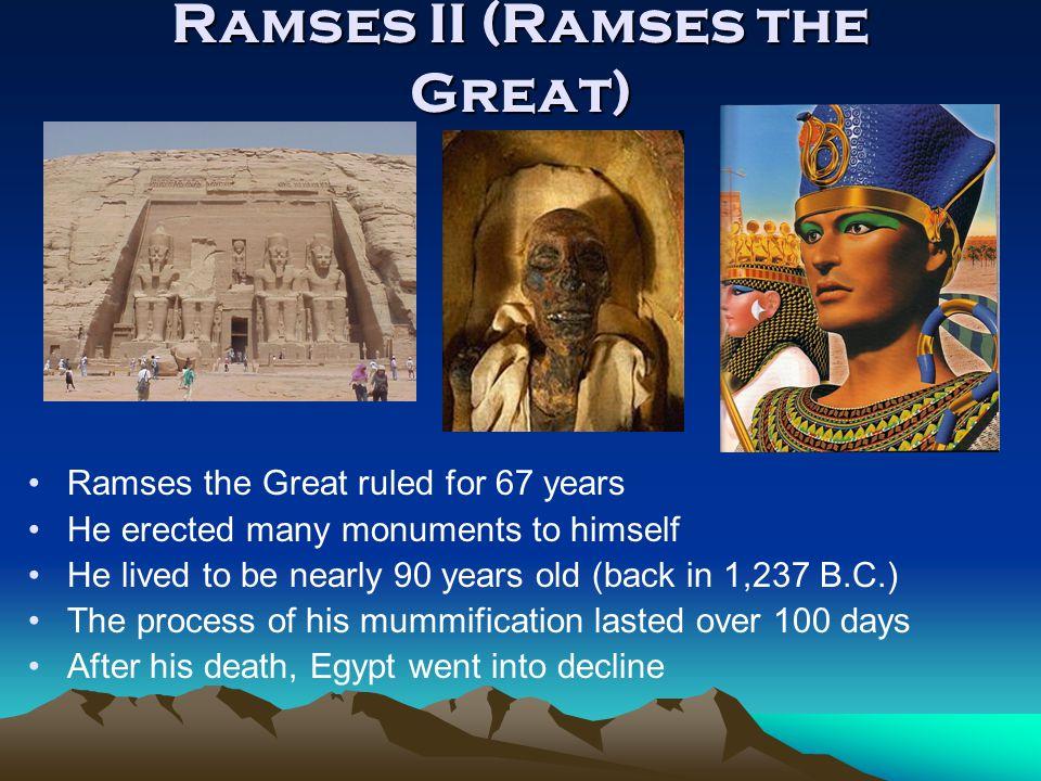 Ramses II (Ramses the Great)