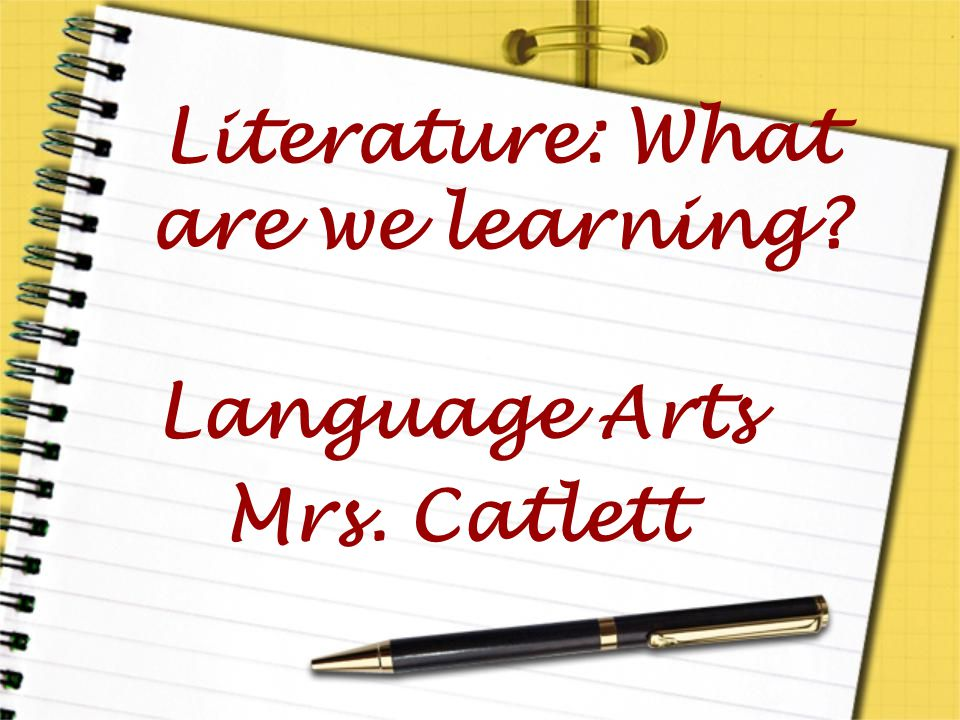 Literature: What are we learning