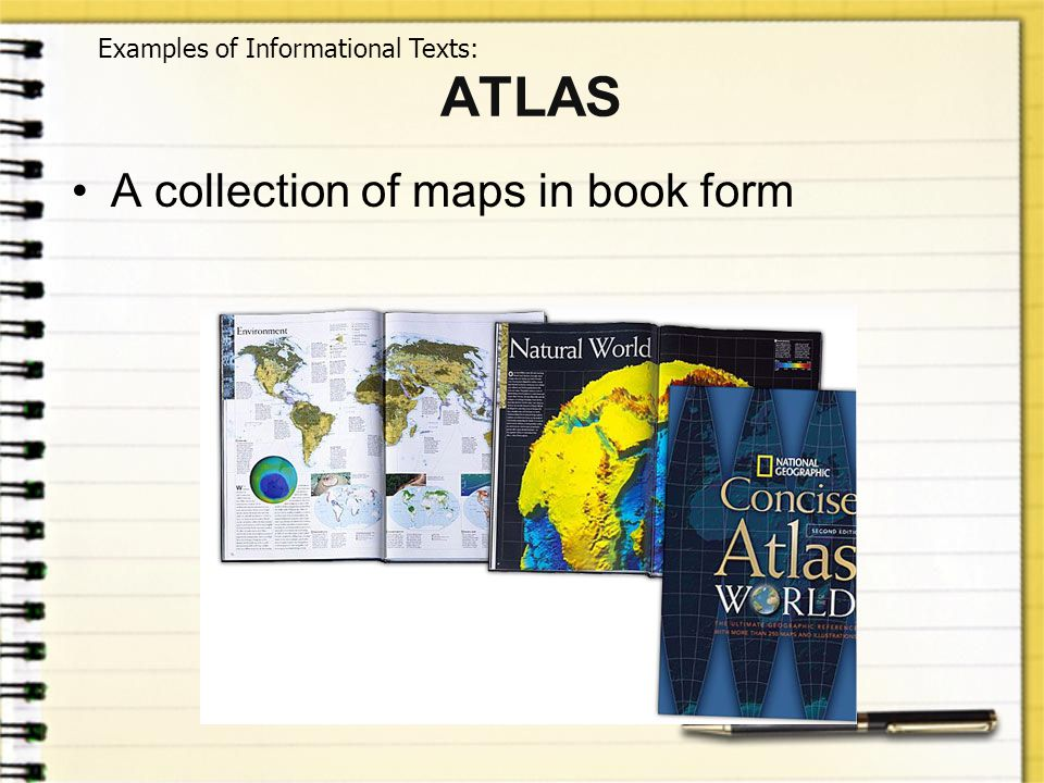 ATLAS A collection of maps in book form