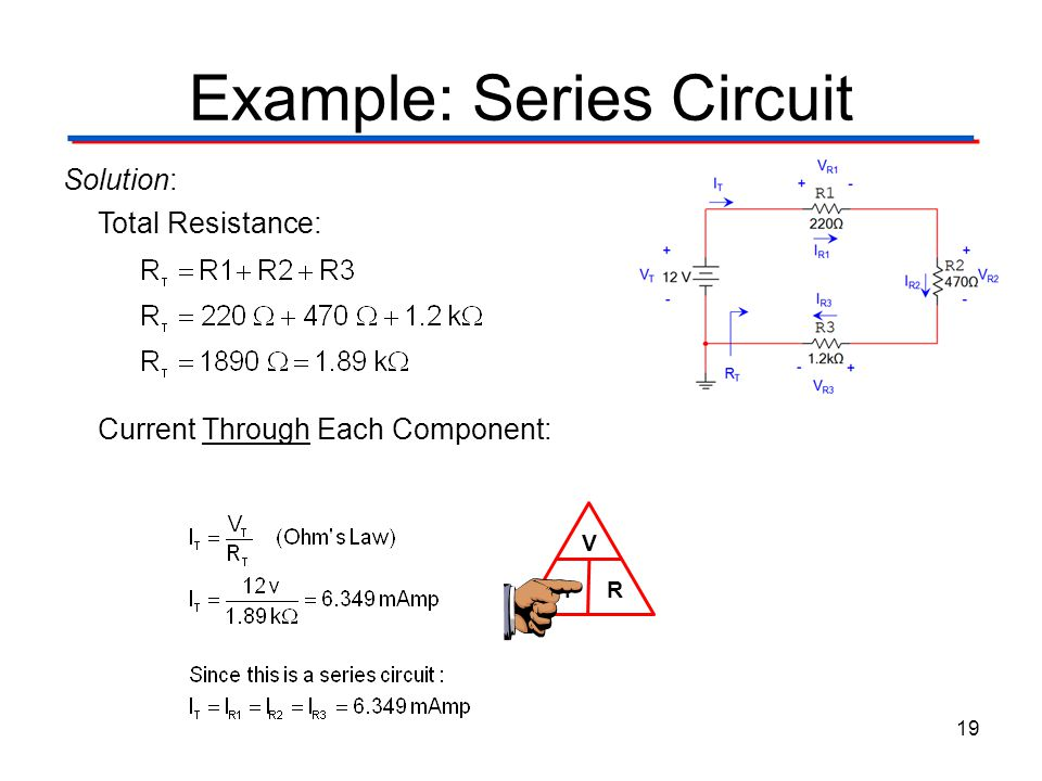 Example: Series Circuit