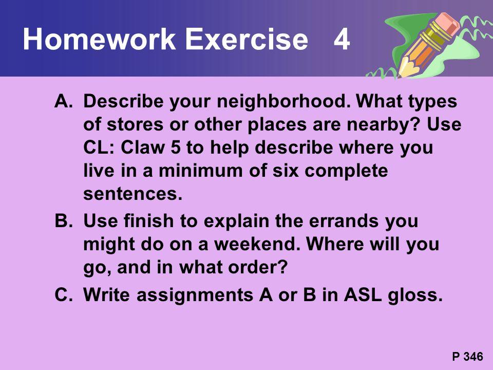 Homework Exercise 4