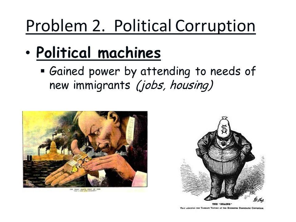 Problem 2. Political Corruption