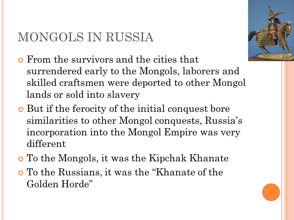 MONGOLS IN RUSSIA
